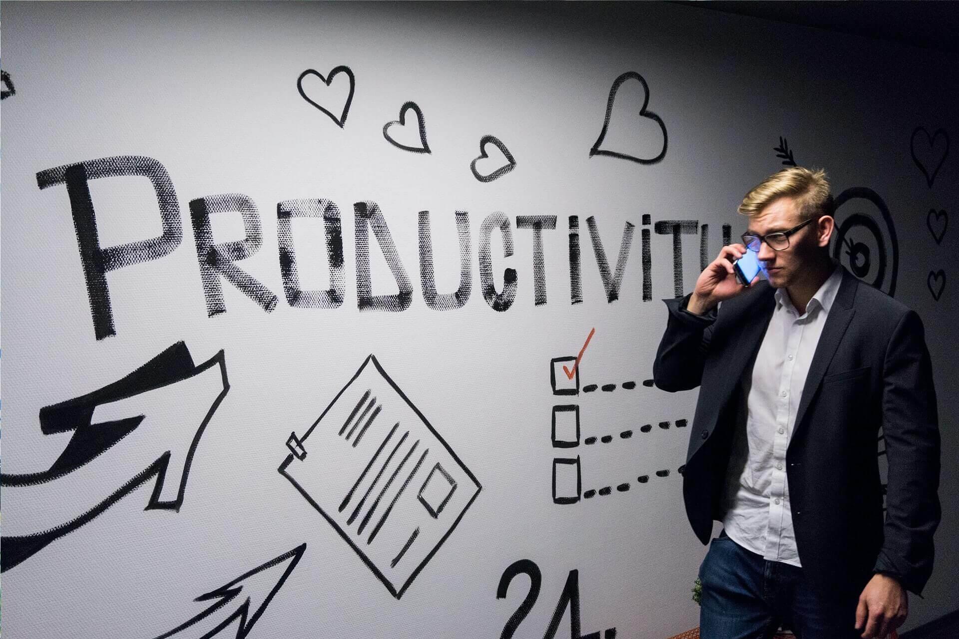 aumentar productividad trabajando fuera